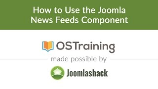 Download Joomla Beginner Class, Lesson #24: How to Use the Joomla News Feed Component Video