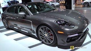 Download 2017 Porsche Panamera Turbo Executive - Exterior and Interior Walkaround - 2017 Chicago Auto Show Video