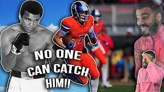 Download Muhammad Ali's Grandson Is A Beast On The Field!!!- Biaggio Ali-Walsh Highlights [Reaction] Video
