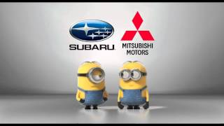 Download Subaru vs. Mitsubishi Minions Style Video