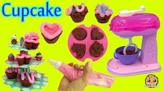 Download Make Real Cupcakes with Cool Baker Magic Mixer Maker Playset and Chef Barbie Doll Video