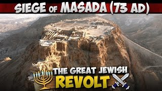 Download The Siege of Masada (73 AD) - Last Stand of the Great Jewish Revolt Video