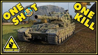 Download One Shot, One Kill - FV215b (183) - World of Tanks Gameplay Video