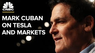 Download Mark Cuban On Tesla Going Private, Staying Out Of The Market Video