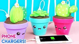 Download How to Make DIY Kawaii Succulent Phone Chargers! Video