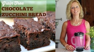 Download Grain Free Chocolate Zucchini Bread (Paleo, Gluten Free) Video