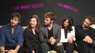 Download The Riot Club Cast Answer Fans Tweeted Questions | Glamour UK Video