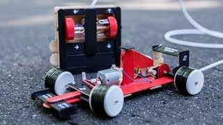 Download Wow! How to make a F1 car at home from popsicle sticks – Remote controlled - Amazing DIY toy Video
