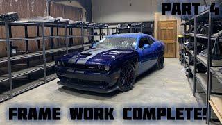 Download Rebuilding a Wrecked 2016 Dodge Hellcat Part 4 Video