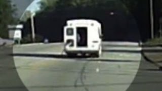 Download Video shows 4-year-old fly out of moving bus Video
