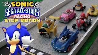 Download Sonic and Sega All Stars Racing Stop Motion Video