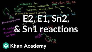Download Comparing E2 E1 Sn2 Sn1 Reactions Video
