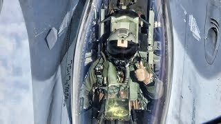 Download F-16 Pilot Communications During Aerial Refueling Video