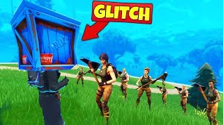 Download TROLLING DEFAULTS with *GLITCHES* - Fortnite Battle Royale Video