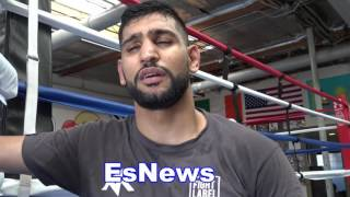 Download Amir Khan Breaks Down Canelo vs Chavez Jr Who He Thinks Will Win - EsNews Boxing Video