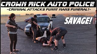 Download Savage Interrupts Funeral! Gets Proper Response! Crown Rick Auto Police Video