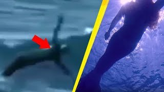 Download 5 Real Life Mermaids Caught On Camera! Video