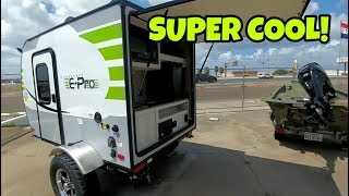 Download Coolest little Travel Trailer I've seen! E-Pro! A Bug-Out RV! Video