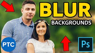 Download How To Blur Backgrounds In Photoshop - Shallow Depth of Field Effect [Lens Blur and Depth Maps] Video