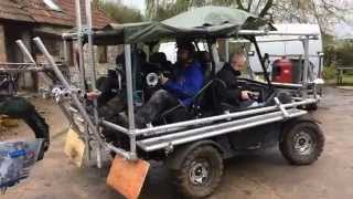 Download Grip Hire Chapman UK Dune Buggy Tracking Vehicle SD Video