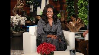 Download Michelle Obama in Ellen's Hot Seat Video