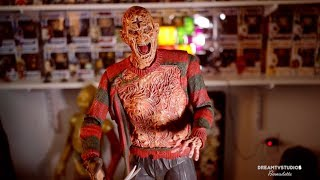 Download Neca 1:4th Scale Freddy Krueger Dream Warrior Quick Review Video