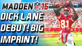 Download DICK LANE DEBUT! DEFENSIVE OVERLOAD! - Madden 16 Ultimate Team - Video