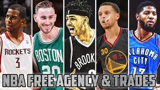 Download NBA Free Agency 2017 - Latest Trades Ft. Stephen Curry, Kevin Durant, Paul George…etc Video