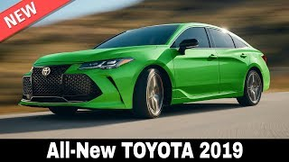 Download 10 New Toyota Cars that Will Prove Their Leadership in 2019 (Interiors and Exteriors) Video