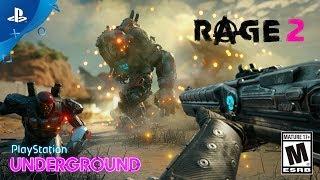 Download Rage 2 - Gameplay Walkthrough   PlayStation Underground Video