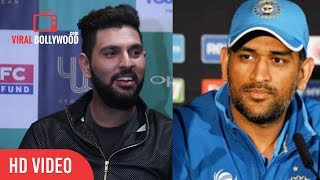 Download Yuvraj Singh Reaction On MS Dhoni Biopic Trailer   Very Funny Video