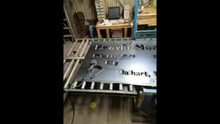 Download cut on 4 x 8 whole sheet Video