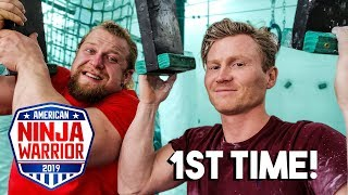 Download Pro Climber Tries Ninja Warrior *1ST TIME EVER* Video