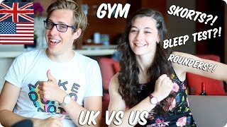 Download Gym / Phys Ed! BRITISH VS AMERICAN Video