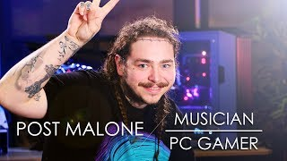 Download Post Malone - Musician turned PC Gamer Video