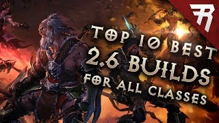 Download Top 10 Best Builds for Diablo 3 2.6 Season 11 (All Classes, Tier List) Video