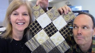 Download Part 1: Jagged Edge Table Runner with Sparkle from Robert Kaufman Video