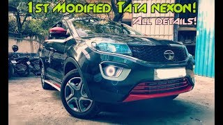 Download INDIA's FIRST MODIFIED TATA NEXON ! All details! Contact details! Video