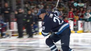 Download Patrik Laine vs Brent Burns Hardest Shot Competition Video