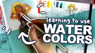 Download WILL I EVER LEARN?!   White Nights Watercolors   Beginner Video