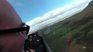Download 3000m wave climb at Portmoak (4K full flight video) Video