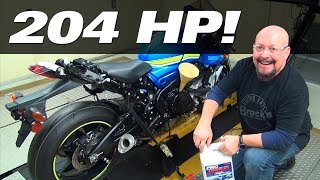 Download 2017 GSX-R1000 S2B: Episode 6 (Part 2) - The Devil Is In The Details (Oil Change) Video