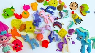 Download Eraser Puzzles Surprise Blind Bags, My Little Pony, Food, Shopkins + More with Poppy Trolls Video