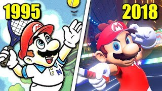 Download Evolution of Mario Tennis Games (1995 - 2018) Video