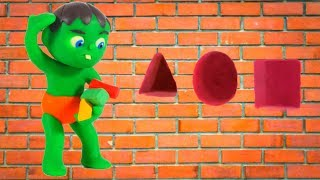 Download KIDS PLAYING WITH FIGURES & MUSIC ❤ SUPERHERO PLAY DOH CARTOONS FOR KIDS Video
