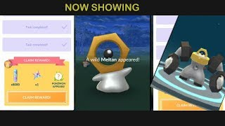 Download Easy Walkthrough Meltan and Melmetal in Let's Go Research Pokemon Go. Video