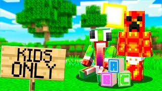 Download I Hacked into a KIDS ONLY Minecraft Server... Video