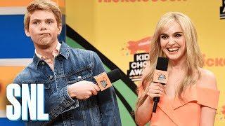 Download Nickelodeon Kids Choice Awards Orange Carpet - SNL Video