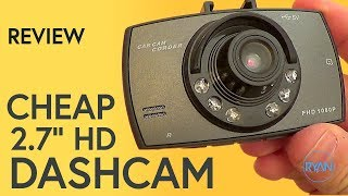 Download REALLY CHEAP DASH CAM Review (with footage) Video