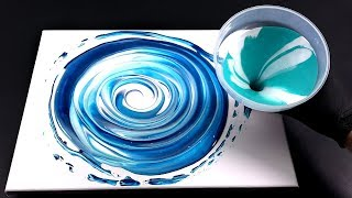 Download Pour Paint with funnel -perfect for fluid painting beginners! Video